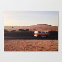 blur Canvas Prints featuring Blur by Fleurdelilli
