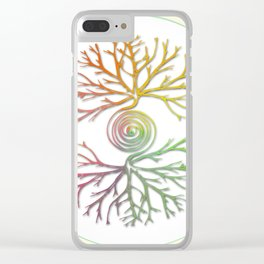 Tree of Life in Balance Clear iPhone Case