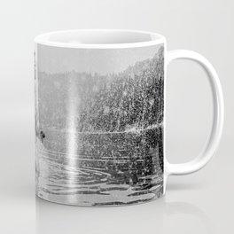 Alpine Snow Lake Nude Coffee Mug