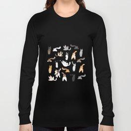 Cat Butts Long Sleeve T-shirt