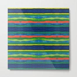 Bold Stripes Metal Print