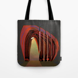 Entrance To The Unknown / Elephant 2 Tote Bag