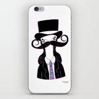 leonardo iPhone & iPod Skins featuring Leonardo by illustrissima