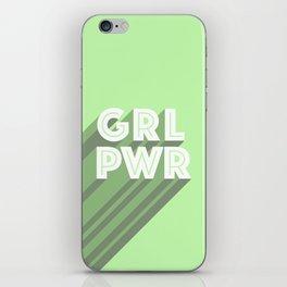 Girl Power iPhone Skin