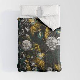 EXOTIC GARDEN - NIGHT Comforters