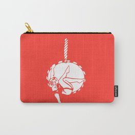 Circus Girl on an Aerial Hoop Carry-All Pouch