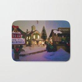 Christmas Town Bath Mat