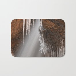 Stream of Frozen Hope Bath Mat
