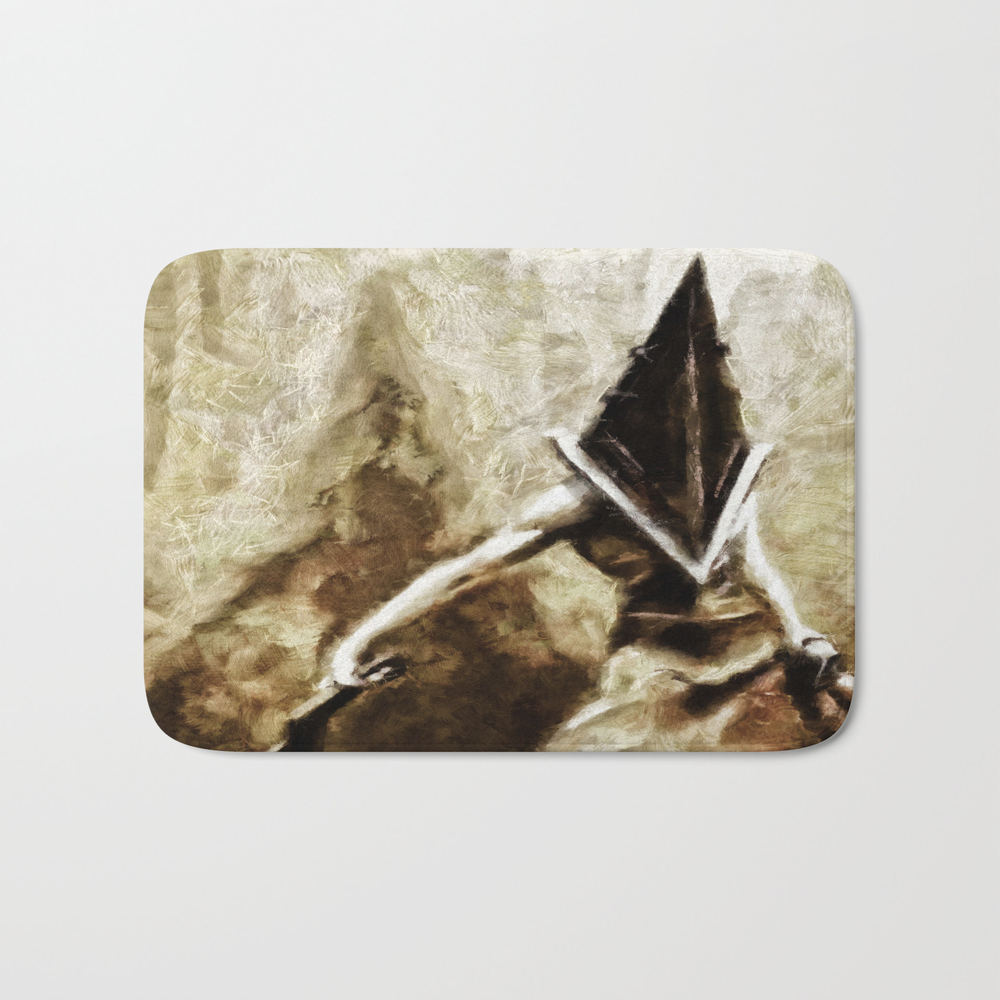 Silent Hill Pyramid Head Bath Mat by Joemisrasi BMT900100