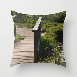 Bridge To The Other Side Throw Pillow