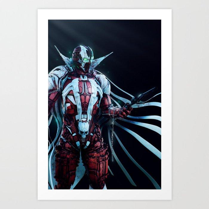 Spawn Vertical1 Art Print