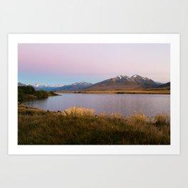 Sunrise at Lake Clearwater Art Print