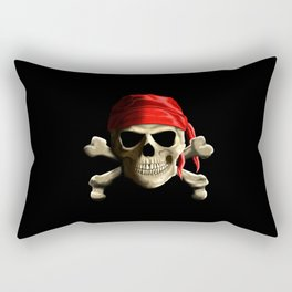 The Jolly Roger Rectangular Pillow