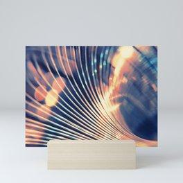 Slinky Abstract Mini Art Print
