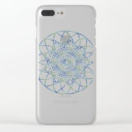 Madala-Roots Clear iPhone Case