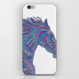 Technicolor Horse iPhone Skin