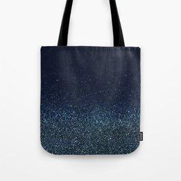 Shiny Glittered Rain Tote Bag