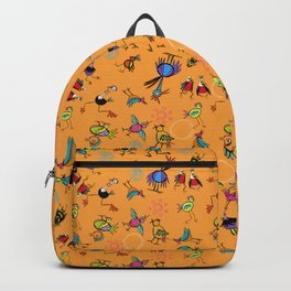 Bird Explosion fun Backpack