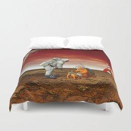 Astronauts Duvet Cover