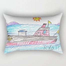 Smooth Seas Rectangular Pillow