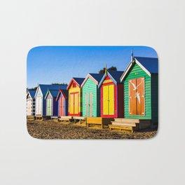 Brighten Beach Bathing Boxes. Melbourne. Australia. Bath Mat