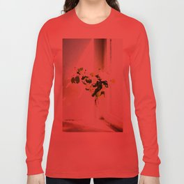 Vase of Flowers with shadows watercolor Long Sleeve T-shirt