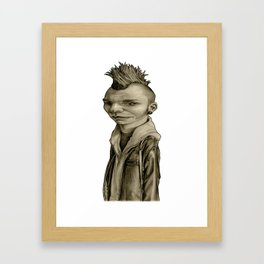 Freddy Framed Art Print