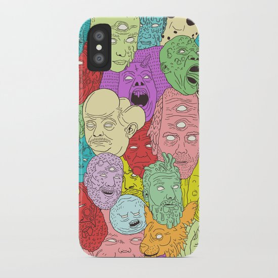 Faces of Math iPhone Case