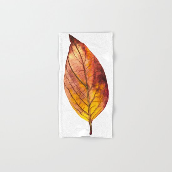 Autumn Leaf 03 Hand & Bath Towel