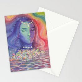 Iridescent Dream Stationery Cards