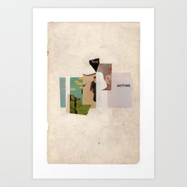 new setting Art Print