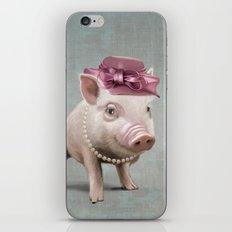 Miss Piggy iPhone & iPod Skin