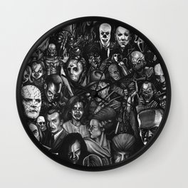 Classic Horror Guice Wall Clock