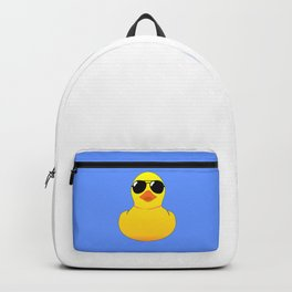 Cool Rubber Duck Backpack