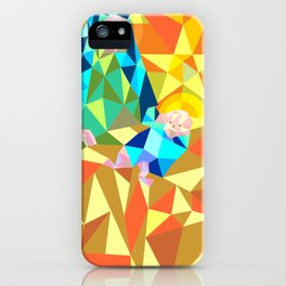 The Manger III iPhone Case