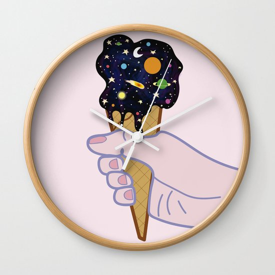 Universe flavour Wall Clock