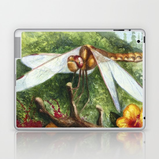 Amber Dragonfly Laptop & iPad Skin
