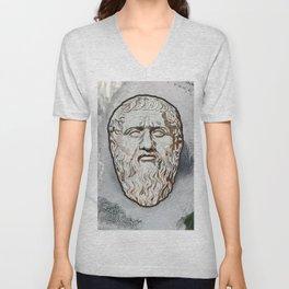 Plato Unisex V-Neck