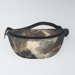 The Storm by Pierre Auguste Cot Fanny Pack