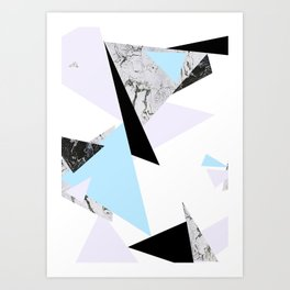 Floating Forms I Art Print