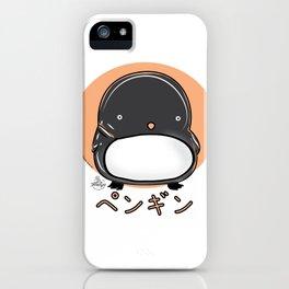 Penguin by Indigo East iPhone Case