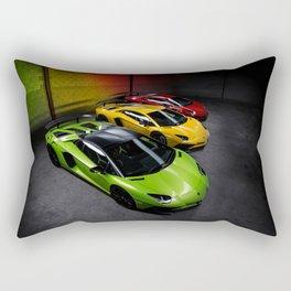 Supercar Traffic Lights Aventador SV Rectangular Pillow