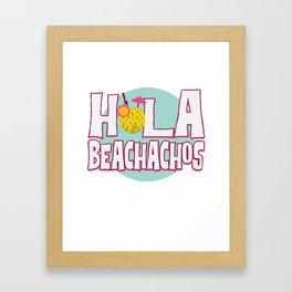 Funny Summer Sun Beach Holiday Vacation Drink Gift Framed Art Print