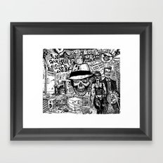 Freak Power Framed Art Print