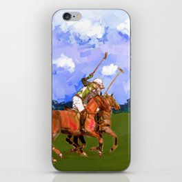 poloplayer in bavaria iPhone Skin