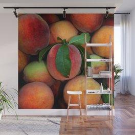 Peachy Peaches Wall Mural