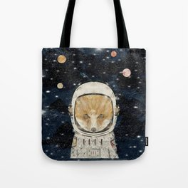 little space fox Tote Bag