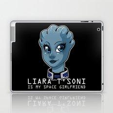 Liara Is My Space Girlfriend Laptop & iPad Skin