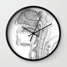 Face Cross-section - Pencil Wall Clock