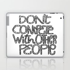 Compete With Yourself Laptop & iPad Skin